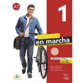 Nuevo Español en marcha 1, учебник по испански език, ниво А1 + e-учебник (ново издание)