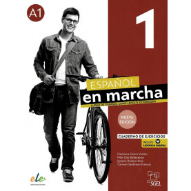 Nuevo Español en marcha 1, учебна тетрадка по испански език, ниво А1 + е-тетрадка (ново издание)