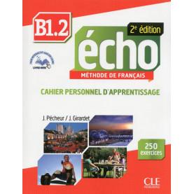Écho, учебник по френски език, ниво B1.2 + CD MP3