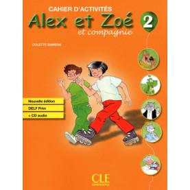 Alex et Zoe et compagnie 2, тетрадка по френски език за 3. клас