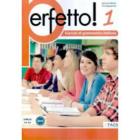 Perfetto 1, упражнения по италианска граматика, ниво А1-А2