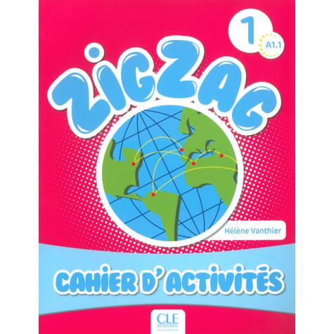 ZigZag 1, тетрадка по френски език за 2. клас