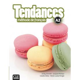 Tendances A2, учебник по френски език, ниво А2 + DVD