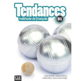 Tendances B1, учебник по френски език, ниво B1 + DVD