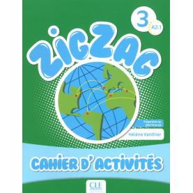 ZigZag 3, тетрадка по френски език за 4. клас