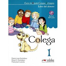 Colega 1, учебник, ниво А1.1 + CD