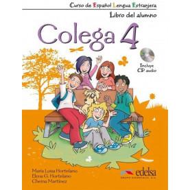 Colega 4, комплект учебник и тетрадка + CD
