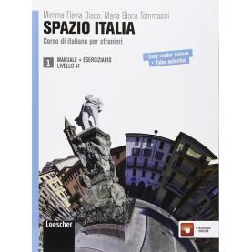 Spazio Italia 1, учебник и тетрадка, ниво А1 + CD