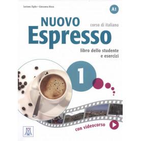 Nuovo Espresso 1, учебен комплект по италиански език, ниво А1 + е-книга