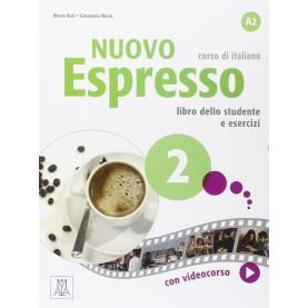 Nuovo Espresso 2, учебен комплект по италиански език, ниво А2 + е-книга
