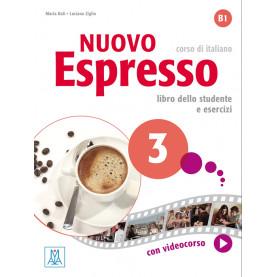 Nuovo Espresso 3, учебен комплект по италиански език, ниво B1 + е-книга