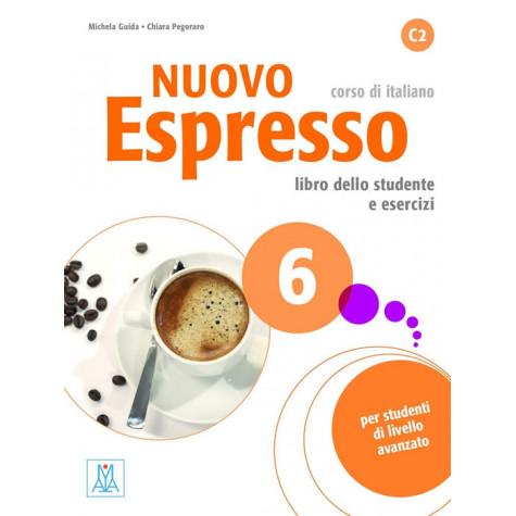 Nuovo Espresso 6, учебен комплект по италиански език, ниво C2 + CD