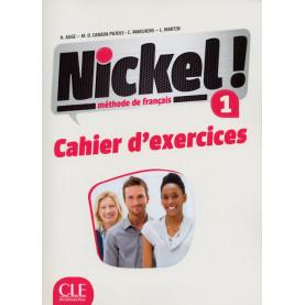 Nickel! 1, учебна тетрадка по френски език, ниво А1 + CD