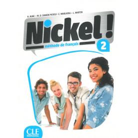 Nickel! 2, учебник по френски език, ниво А2 + DVD