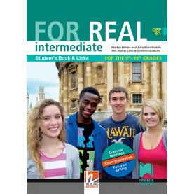 For Real intermediate В1. Английски език за 9. и 10. клас (интензивно изучаване)