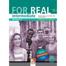 For Real intermediate (B1) Workbook 2. Работна тетрадка № 2 по английски език за 10. клас