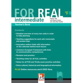 For Real intermediate (B1). Книга за учителя по английски език за 9. и 10. клас