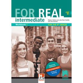 For Real intermediate (B1) Workbook 1. Учебна тетрадка № 1 по английски език за 9. клас