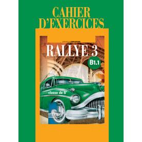 Rallye 3 В1.1. Учебна тетрадка по френски език за 8. клас