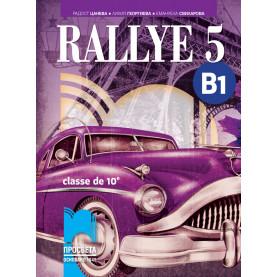 Rallye 5. B1 Учебник по френски език за 10. клас (интензивно изучаване)
