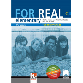 For Real A2. Работна тетрадка по английски език за 8. клас