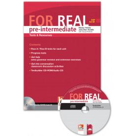 FOR REAL pre-intermediate (A2 – B1). Tests & Resources. Книга с тестове и ресурси по английски език